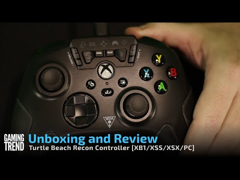 Turtle Beach Recon Controller Unboxing and Review [Gaming Trend]