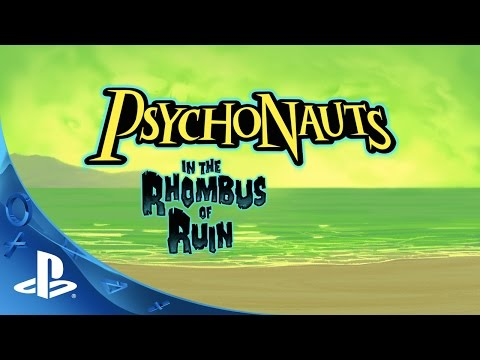 PlayStation Experience 2015: Psychonauts in the Rhombus of Ruin - Announce Teaser Trailer | PS VR