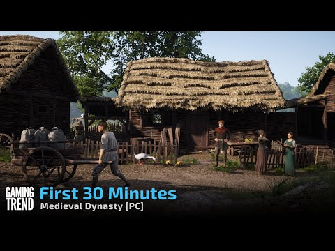 Medieval Dynasty - First 30 minutes on PC [Gaming Trend]
