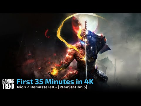 The Nioh Collection - Nioh 2 Remastered - First 35 Mins in 4K - PS5 [Gaming Trend]