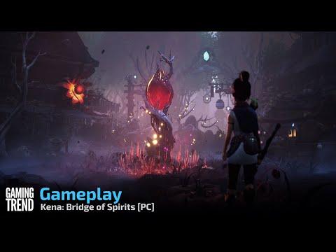 Kena: Bridge of Spirits Gameplay - PC [Gaming Trend]