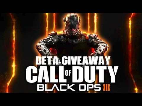 Call of Duty: Black Ops III Beta footage and key giveaway