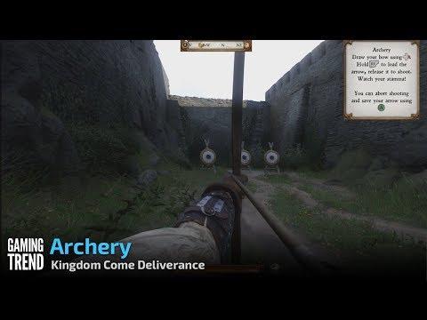 Kingdom Come Deliverance - Archery [Gaming Trend]