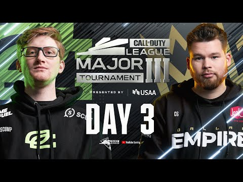 Call Of Duty League 2021 Season | Stage III Major Tournament | Day 3