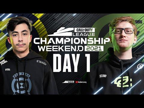 Call Of Duty League 2021 Season | Championship Weekend | Day 1