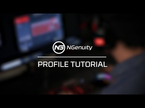 Creating Profiles Tutorial - HyperX NGenuity Software