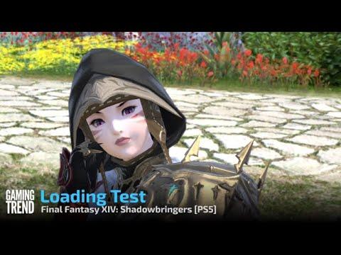 Final Fantasy XIV: Shadowbringers loading times test - PS5 [Gaming Trend]