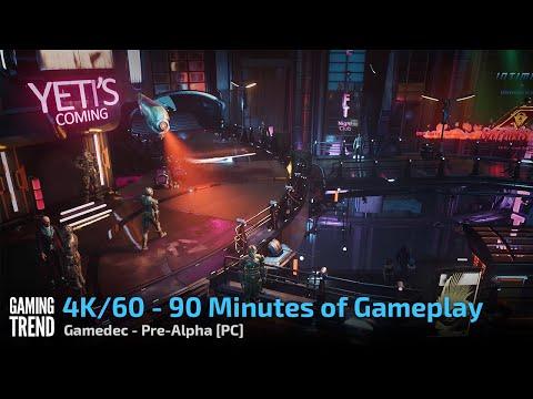 Gamedec - Full Pre-Alpha Video Playthrough in 4K 60fps - PC [Gaming Trend]