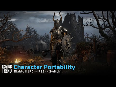 Diablo II Resurrected Character Portability from PC to Console [Gaming Trend]