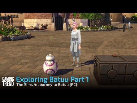 The Sims 4: Journey to Batuu - Exploring Batuu Part 1 [Gaming Trend]