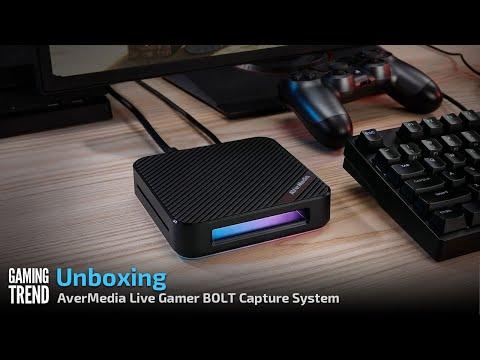 AverMedia Live Gamer BOLT Capture System - Unboxing [Gaming Trend]