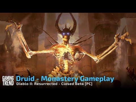 Diablo II Resurrected Monastery Druid Gameplay - Closed Beta on PC [Gaming Trend]