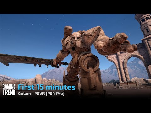 Golem - First 15 Minutes - PS4 Pro - PSVR [Gaming Trend]