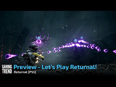 Preview - Let's Play Returnal! - PS5 [Gaming Trend]