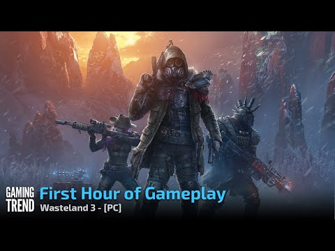 Wasteland 3 - Character Creation and First Hour Gameplay - PC [Gaming Trend]