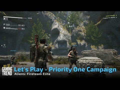 Aliens: Fireteam Elite - Let's Play Priority One Campaign Mission on PC [Gaming Trend]