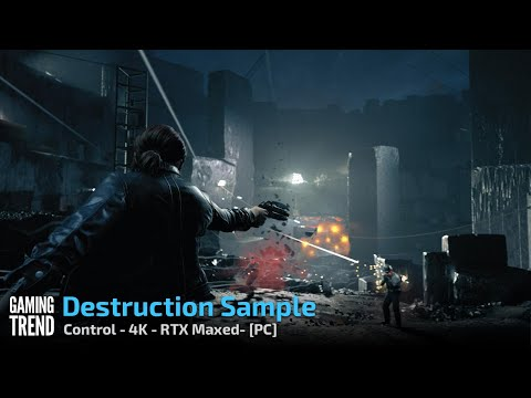 Control - Destruction Sample - 4K RTX Maxed - PC [Gaming Trend]
