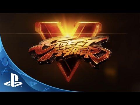 "Street Fighter V Announcement Trailer ""Rise Up"""