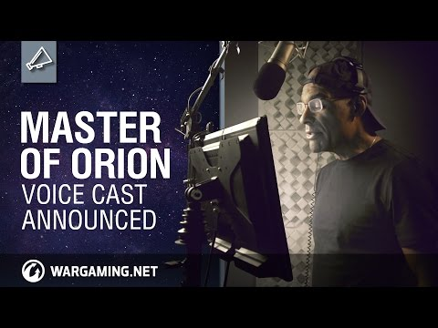 Master of Orion: Voice Actors Revealed