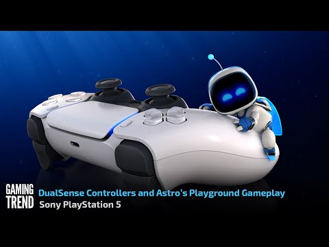 Astro's Playroom and Haptic DualSense Controllers Preview - PS5 [Gaming Trend]
