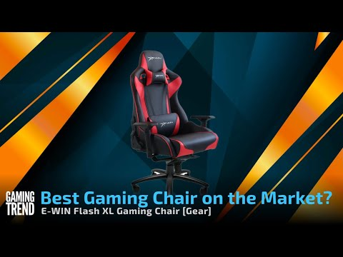 E WIN Flash XL - Best Gaming Chair on the Market? - 4 Way Chair Shootout! [Gaming Trend]