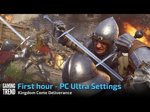 Kingdom Come Deliverance - First Hour at Ultra on PC [Gaming Trend]