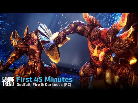 Godfall Fire & Darkness First 45 Minutes on PC [Gaming Trend]