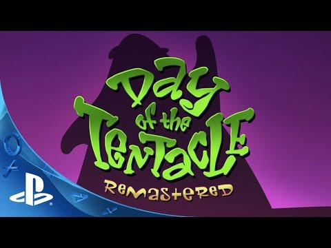 PlayStation Experience 2015: Day of the Tentacle Remastered - PSX Trailer | PS4