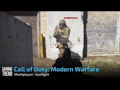 Call of Duty: Modern Warfare- Gunfight mode