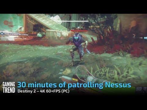 Destiny 2 PC - 30 minutes of patrolling Nessus (4K 60+FPS)