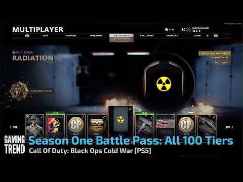 Season One Battle Pass: All 100 Tiers - Call Of Duty: Black Ops Cold War [PS5] - [Gaming Trend]