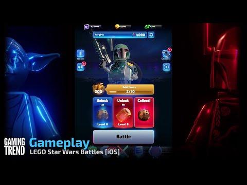 LEGO Star Wars Battles Gameplay - – iOS [Gaming Trend]