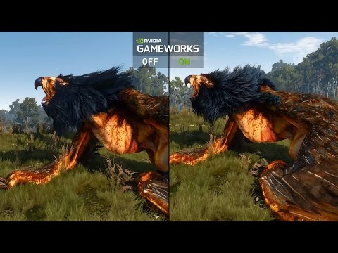 The Witcher 3: Wild Hunt NVIDIA GameWorks Video