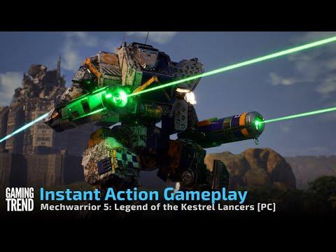 Mechwarrior 5 Mercenaries Legend of the Kestrel Lancers - Instant Action [Gaming Trend]
