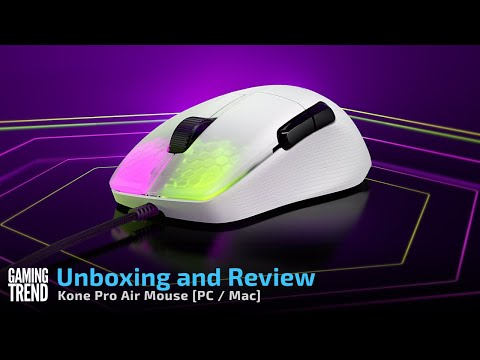 Roccat Kone Pro Air Unboxing and Review [Gaming Trend]