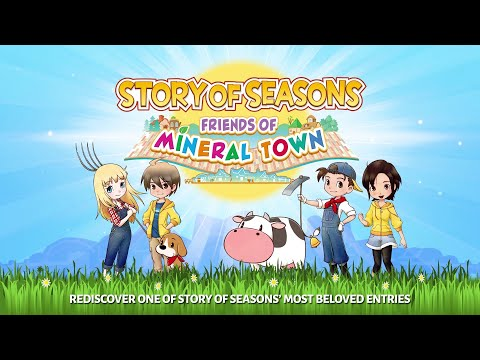 STORY OF SEASONS: Friends of Mineral Town - Release Date Announcement [NINTENDO SWITCH]