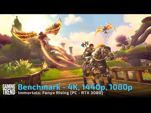 Immortals Fenyx Rising - 4k, 1440p, 1080p benchmarks on 3080 [Gaming Trend]