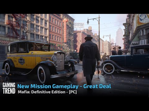 Mafia: Definitive Edition - Great Deal Gameplay - PC [Gaming Trend]