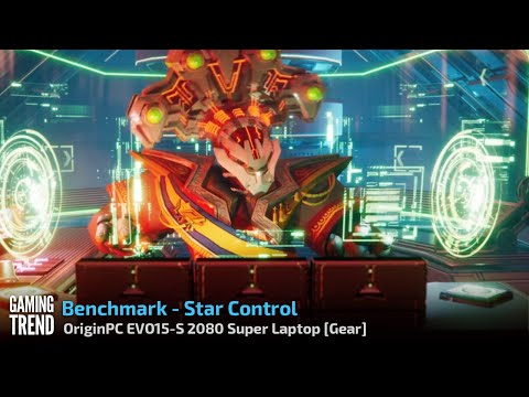 OriginPC EVO-15S - Star Control Origins Benchmark [Gaming Trend]