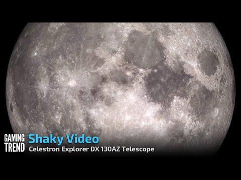 The Moon - Celestron Explorer DX 130AZ [Gaming Trend]