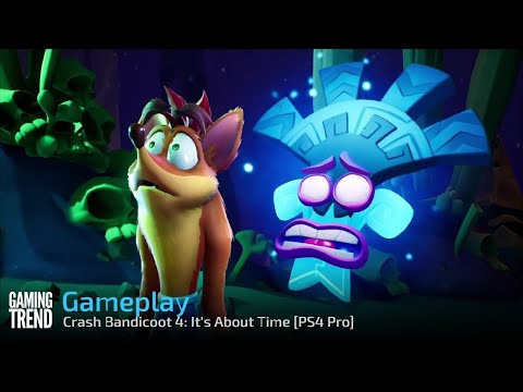 Crash Bandicoot 4: It's About Time - First 17 Minutes [Gaming Trend]