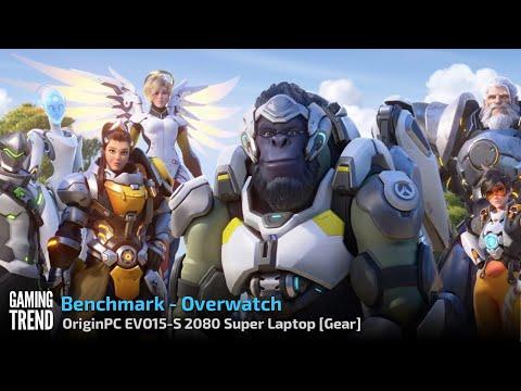 OriginPC EVO-15S - Overwatch Benchmark [Gaming Trend]