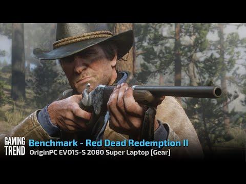 OriginPC EVO-15S - 2080 Super Red Dead Redemption 2 Benchmark [Gaming Trend]