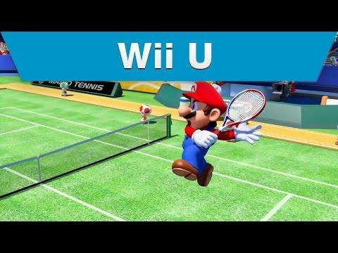 Wii U - Mario Tennis: Ultra Smash E3 2015 Trailer