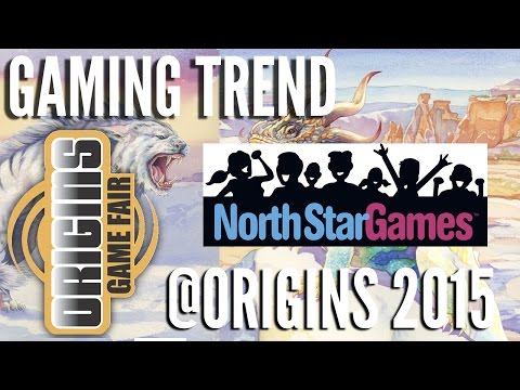 North Star Games @ Origins 2015 - [Gaming Trend]