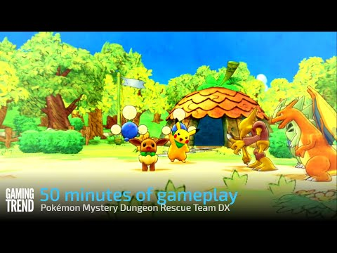 50 minutes of gameplay - Pokémon Mystery Dungeon Rescue Team DX