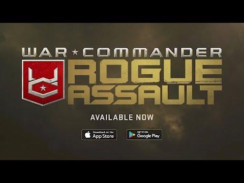 War Commander: Rogue Assault Launch Trailer