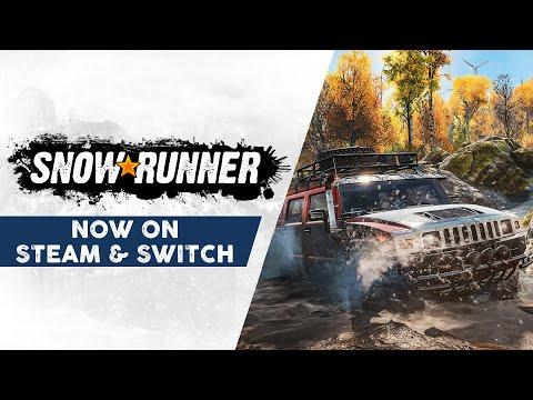 SnowRunner - Steam & Nintendo Switch Launch Trailer