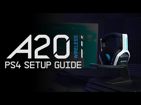 ASTRO A20 Wireless Gen 2    PlayStation 4 Setup