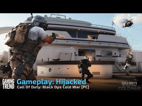 Gameplay: Hijacked - Call Of Duty: Black Ops Cold War [PC] - [Gaming Trend]